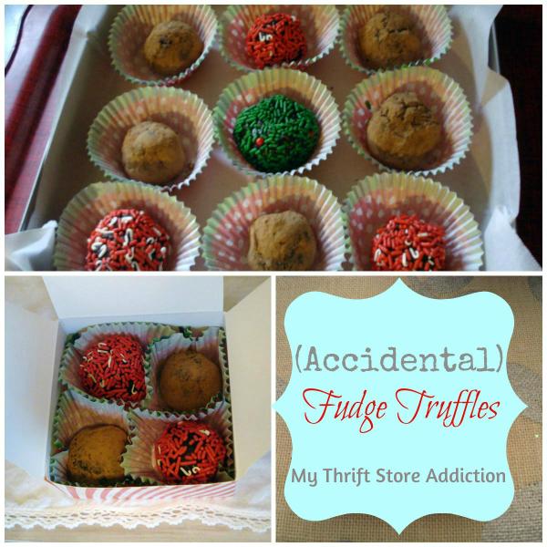 simple fudge truffles