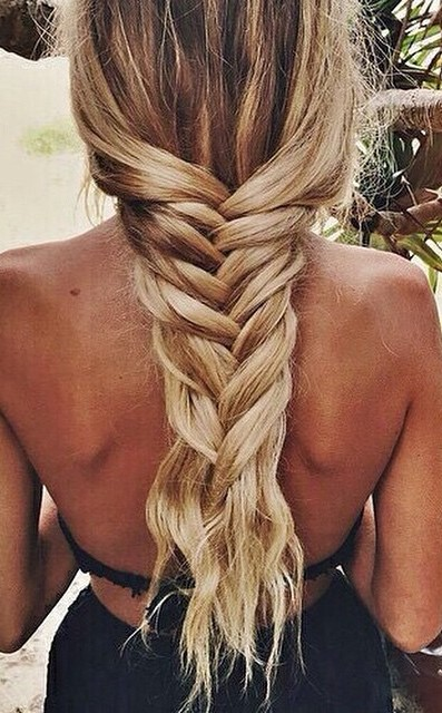 easy braid hairstyle idea
