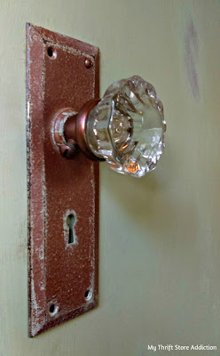 Vintage inspired hollow core door upcycle