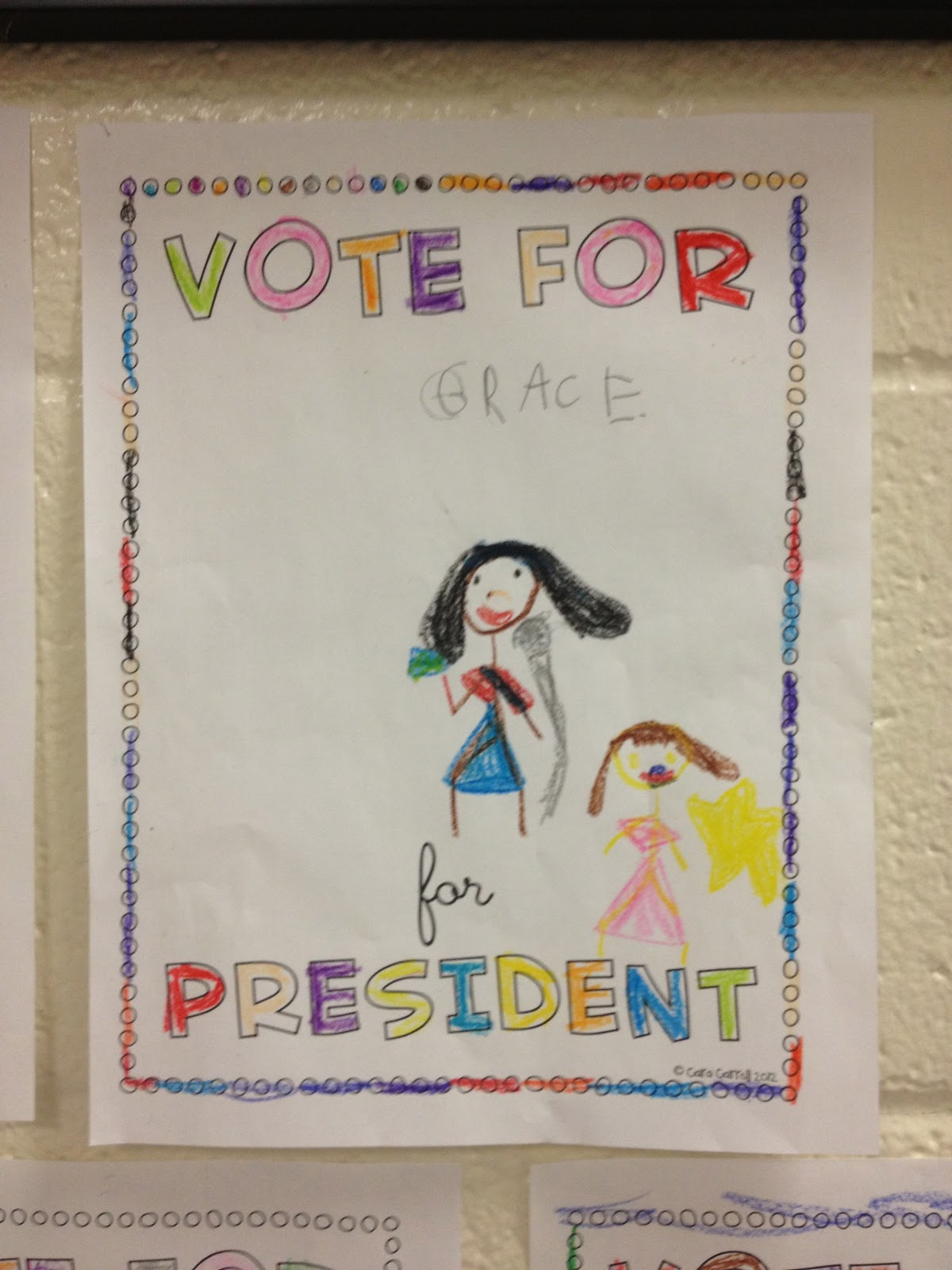 Little Miss Glamour Goes To Kindergarten Election Results