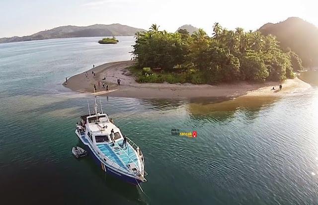 Pulau Sutan/Pulau Setan Objek Wisata Sumatera Barat