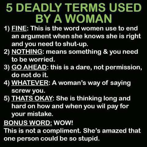Five Deadly Terms randommustings.filminspector.com
