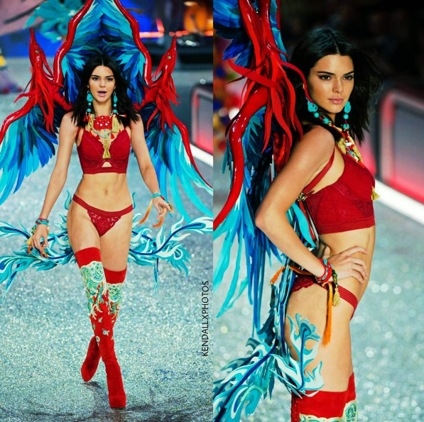 Photos: Kendall Jenner stuns on the runway at the Victoria ...