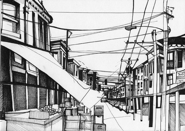 02-Gregor-Louden-Architectural-Drawings-of-our-Streets-www-designstack-co