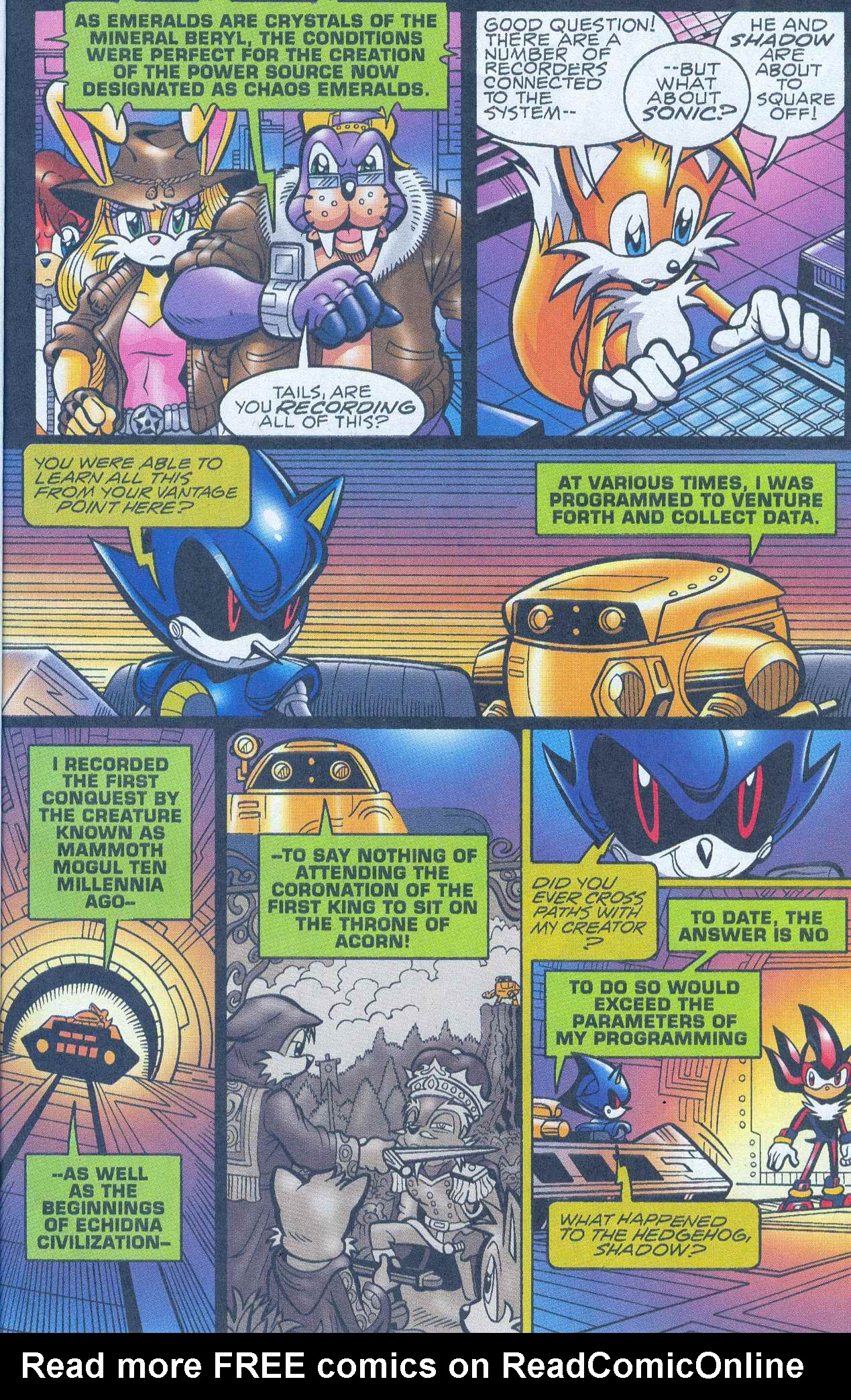 Read online Sonic The Hedgehog comic -  Issue #148 - 11