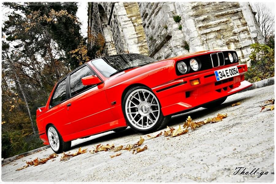 BMW e30 Review: BMW M3 E30 Imola Red