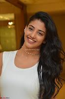 Daksha Nagarkar Cute Beauty in Sleeveless White Dress at Khwaaish Exhibition Launch 2017 ~  Exclusive 052.JPG