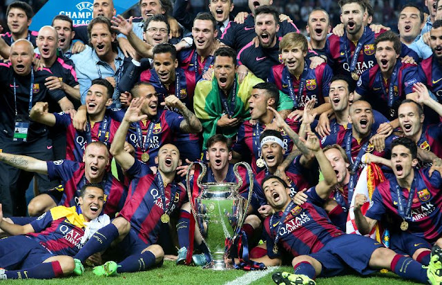 Top 10 Clubs with most Champions League Titles - FC Barcelona