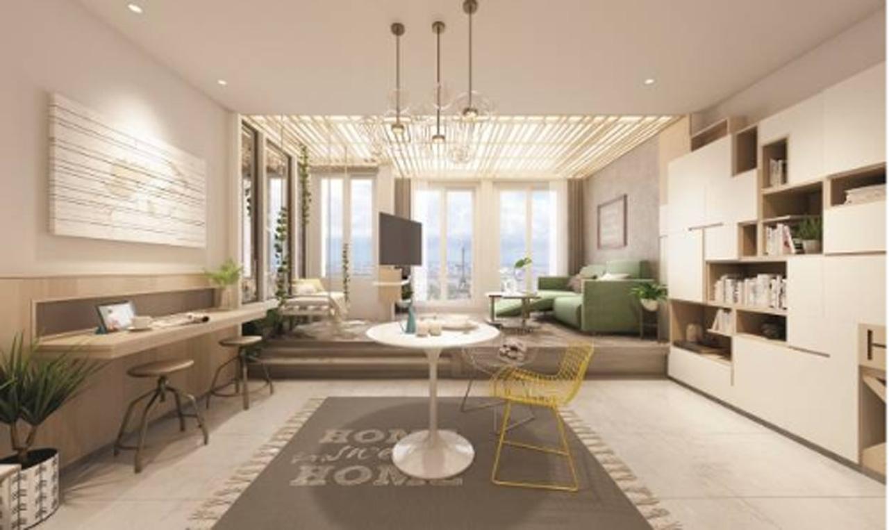 Nội thất phòng khách Chung cư 176 Định Công (ảnh minh họa)