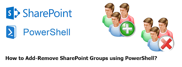 create delete sharepoint user group using powershell