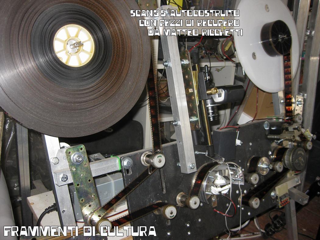Telecinema 35mm autocostruito