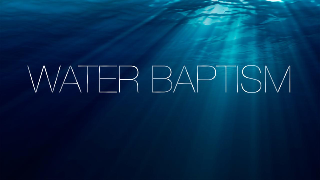 Logos: Water Baptism