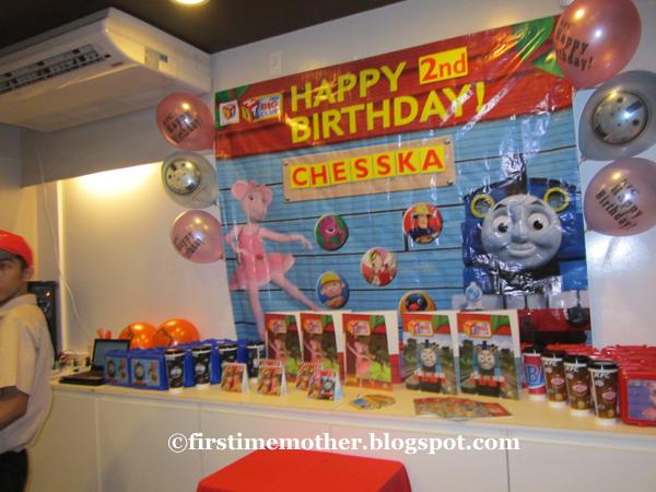 Chesska's 2nd Birthday held at KFC - First-Time Mom