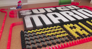 GAMING APPS in 31000 Dominoes | Domino Art Rube Goldberg Machine