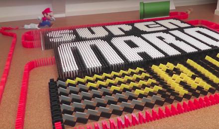 GAMING APPS in 31000 Dominoes   Domino Art Rube Goldberg Machine