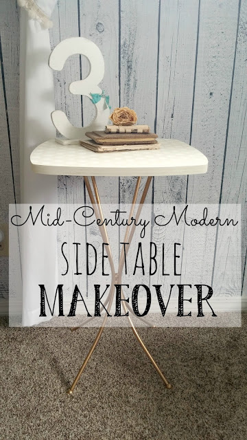 MCM table makeover