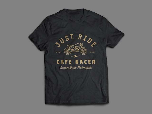 File Mentahan T-Shirt MockUp Design Realistis PSD   Free Download