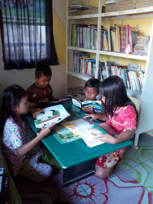 Pondok Ilmu Ammar Chania Meningkatkan Minat Baca Masyarakat