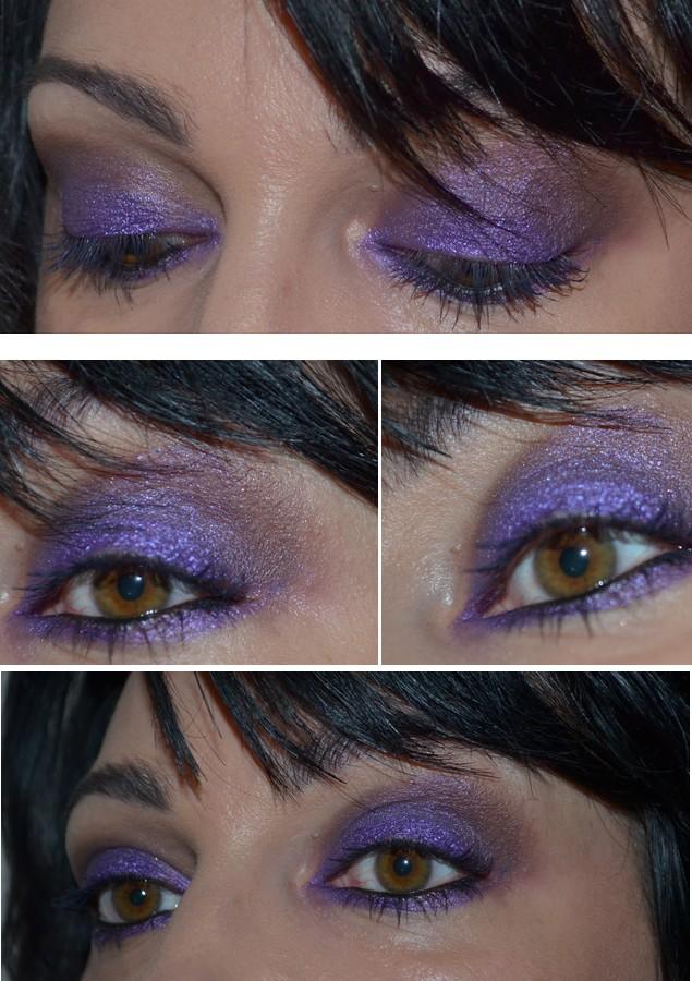 Makeup Passion Purple , maquillage purple, makeup violet