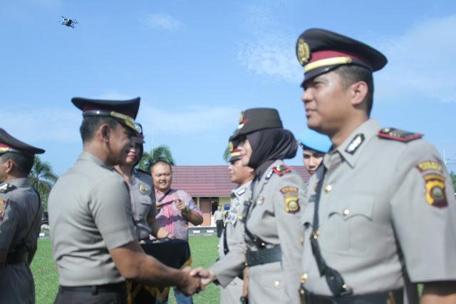 7 Perwira Polres Prabumulih Di Promosikan