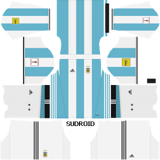 Argentina Kits - World Cup Qualifiers Russia 2018 - Dream League