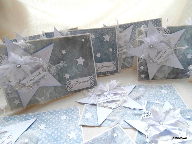gwiazdy betlejemskie z papieru