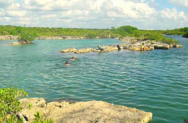 Yal-ku lagoon - Mexiko