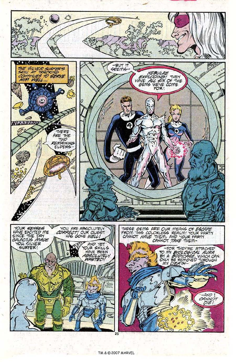 Read online Silver Surfer (1987) comic -  Issue #15 - 27