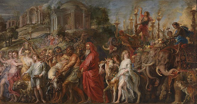 "Peter Paul Rubens (1577 - 1640): ""A Roman Triumph"" (1630)"