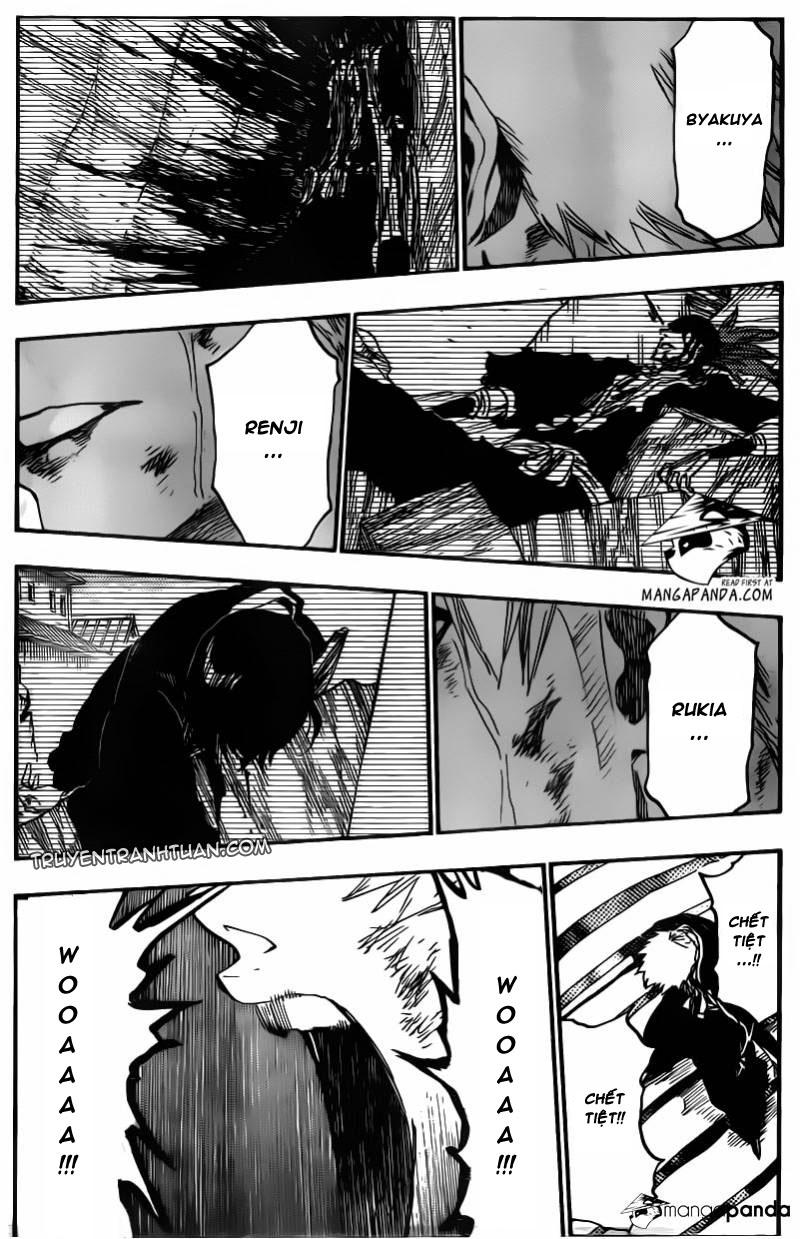 Bleach chapter 503 trang 8