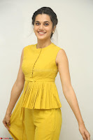 Taapsee Pannu looks mesmerizing in Yellow for her Telugu Movie Anando hma motion poster launch ~  Exclusive 060.JPG