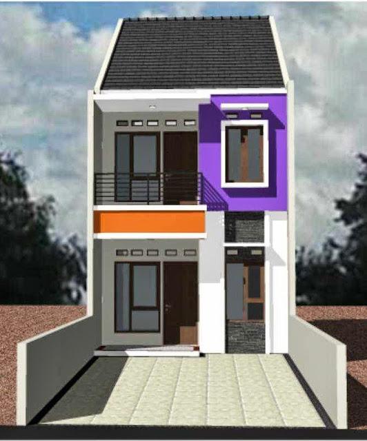 660 Gambar Rumah 2 Lantai Minimalis Type 36 Terbaik