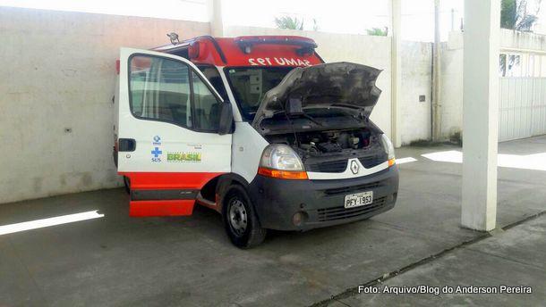 """Durante a gestão do """"Bom Tempo"""": Falta de manutenção em ambulâncias faz SAMU Goiana paralisar atendimento por 3 dias"""