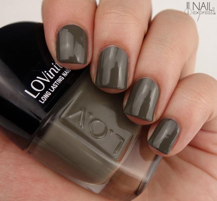 L.O.V Olive Obsession_lak za nohte_swatch
