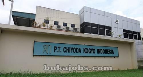 Lowongan Kerja PT Chiyoda Kogyo Indonesia