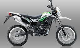 Kawasaki D- Tracker SE 150 Green White