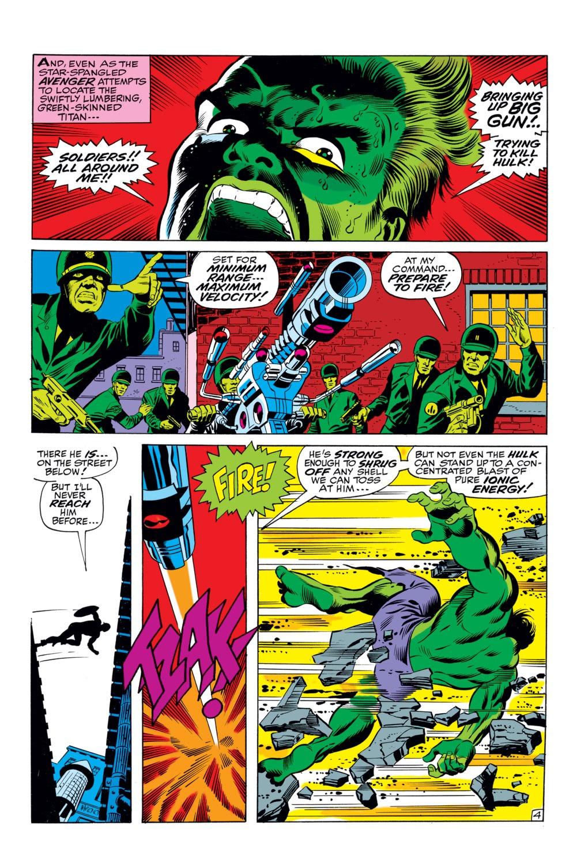 Read online Captain America (1968) comic -  Issue #110 - 5