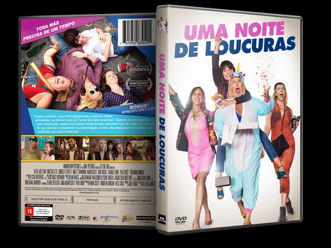 Capa DVD Uma Noite de Loucuras [Exclusiva]