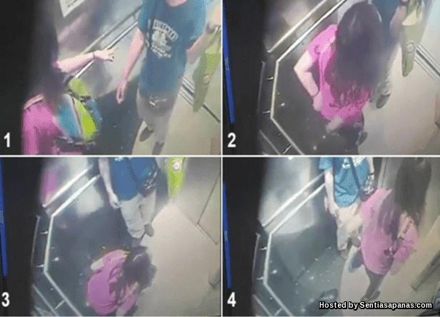 Video Wanita Kencing Dalam Lif Viral