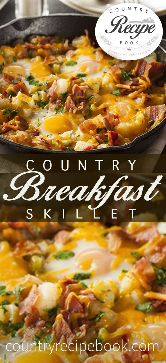 COUNTRY BREAKFAST SKILLET MAKE EASY