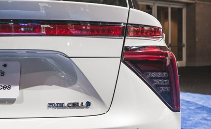 2016 Toyota Mirai Fuel Cell Sedan Debuts