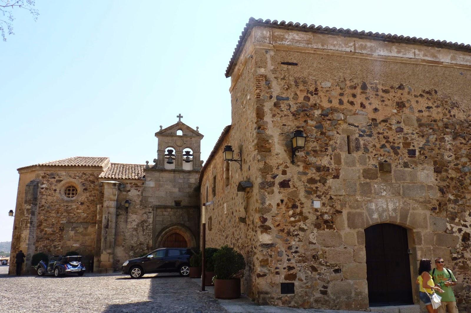 Cáceres, Plaza de San Mateo, Convento de San Pablo.