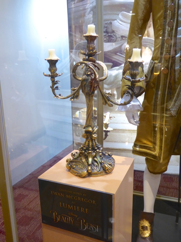 Lumiere candlestick prop Beauty and the Beast