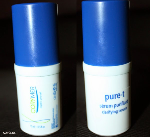 Corymer :Pure-t sérum purifiant