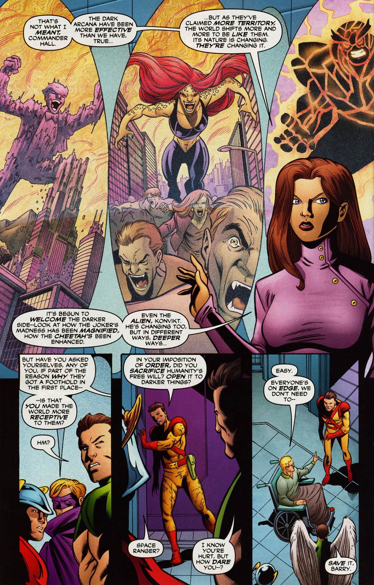 Read online Trinity (2008) comic -  Issue #38 - 24