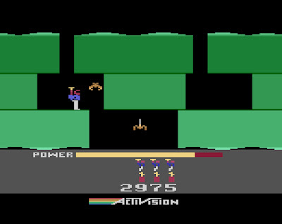 My all time favourite video games: H.E.R.O. - Atari 2600 ...