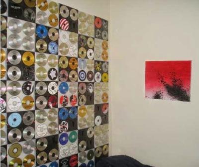 Wallpaper dari CD/DVD bekas
