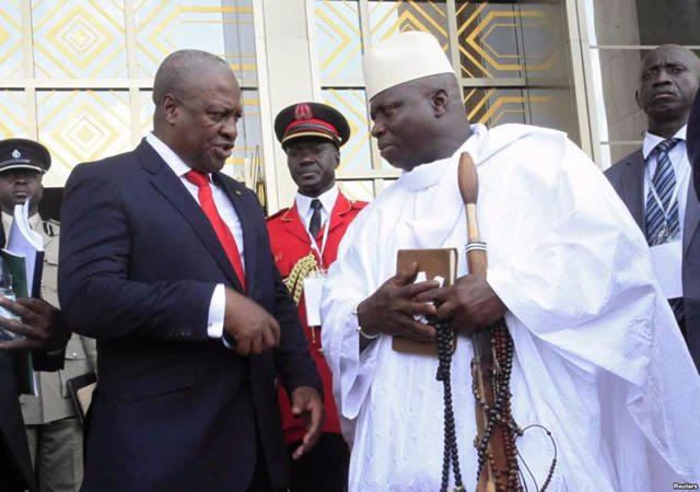 Mahama joins ECOWAS leaders for mediation in The Gambia