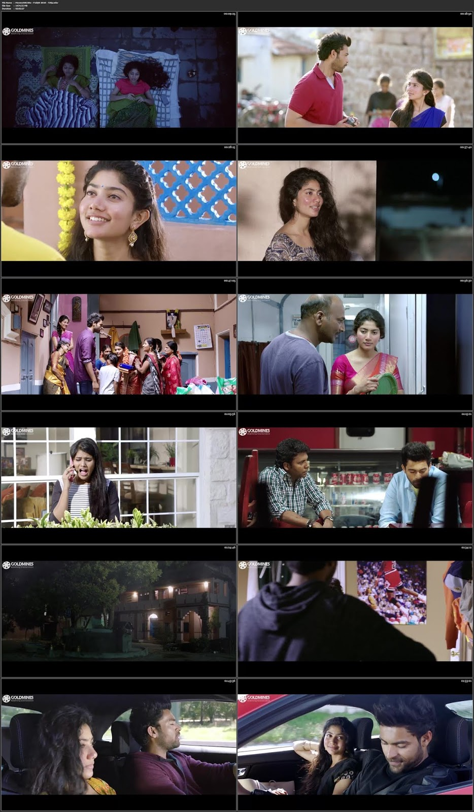 Fidaa 2018 Full Movie in Hindi HDRip 720p