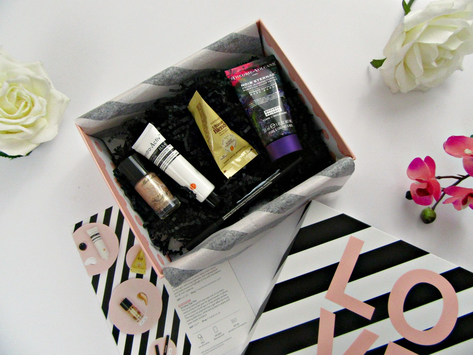 February 2017 Glossybox contents